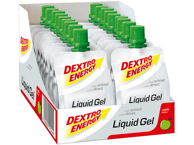 Dextro Energy Liquid Gel - Nutrición deportiva - Apple 18 x 60ml